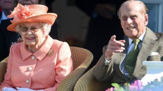 Queen Elizabeth II and Prince Philip,
