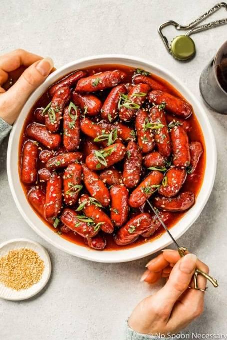 Honey-Sriracha Little Smokies