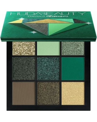 Huda Beauty Obsessions Eye Shadow Palette Precious Stones Collection in Emerald