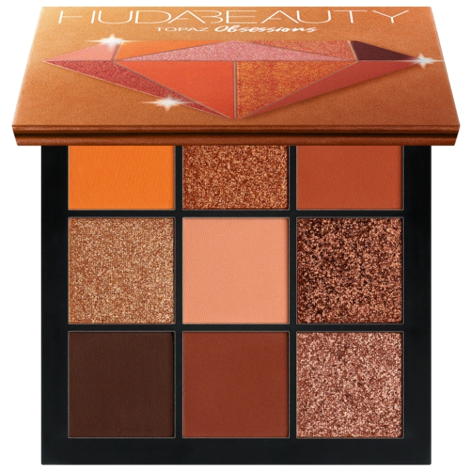 Huda Beauty Obsessions Palette in Topaz