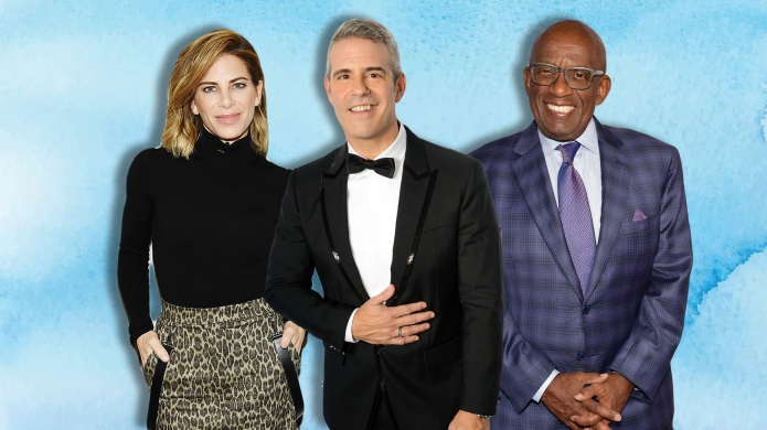 Jillian Michaels, Andy Cohen, Al Roker