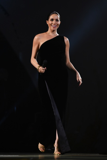 Meghan Markle at the Fashion Awards 2018