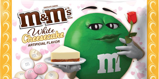 White Cheesecake M&M's