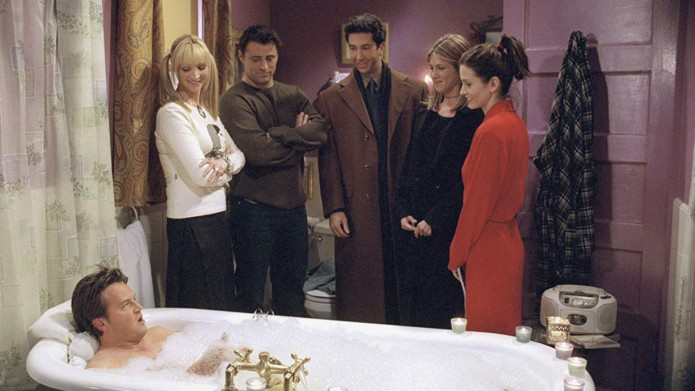 Cast of Friends still photo