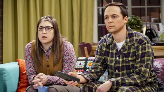 Still of Mayim Bialik and Jim