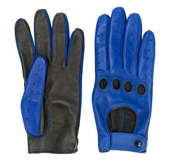 Manokhi Contrast Gloves