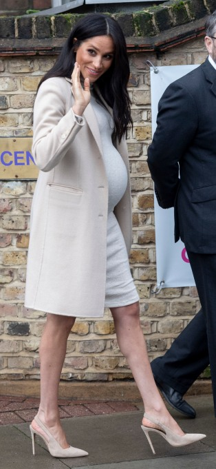 Meghan Markle visits The Mayhew Animal Shelter