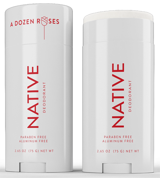 Native Deodorant's Limited-Edition Dozen Roses