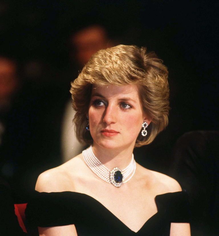 Princess Diana Pearl Necklace