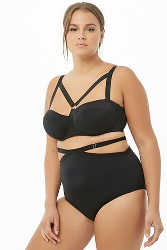 Plus Size GabiFresh x Playful Promises Strappy Panty