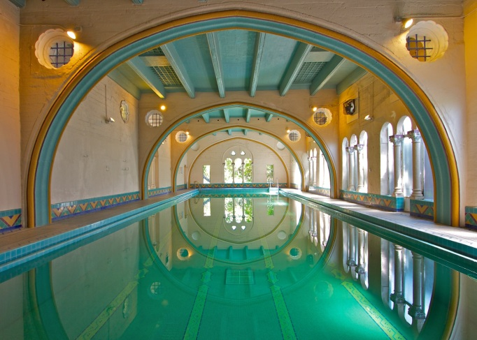 The pool at The Berkeley City Club, Berkeley, California
