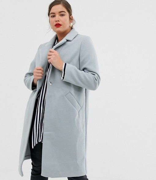 River Island Plus Tailored Coat