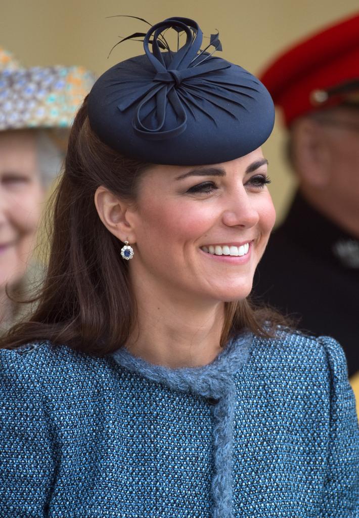 Kate Middleton Sapphire and Diamond Earrings