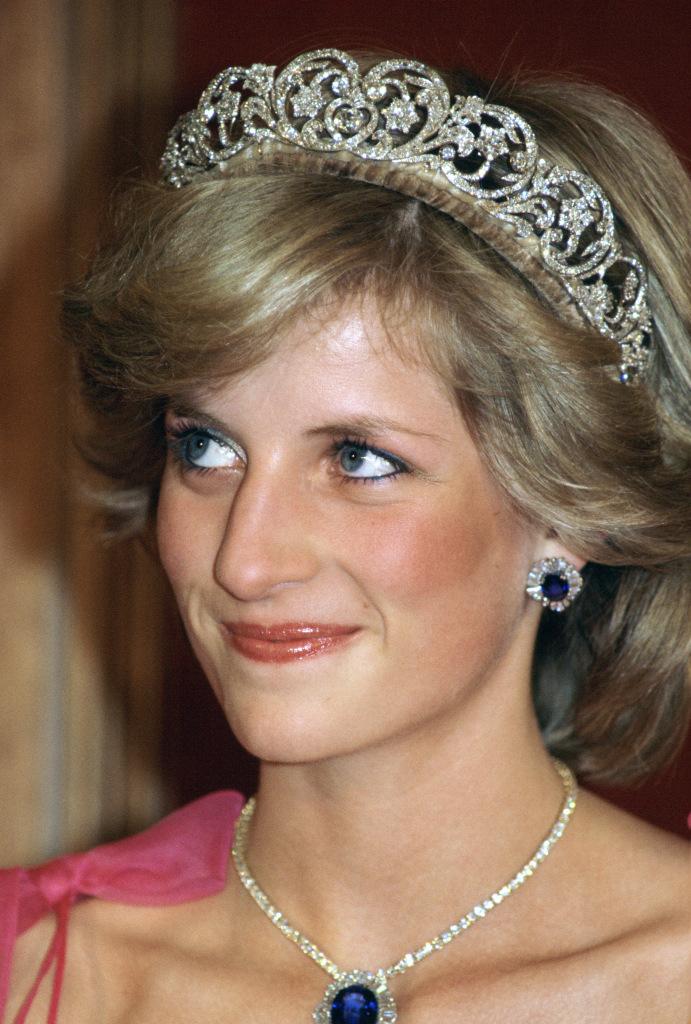 Princess Diana, Sapphire and Diamond Earrings