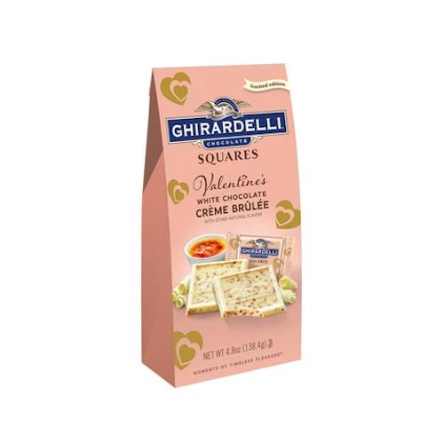 Ghirardelli Valentine's Day White Chocolate Crème Brûlée