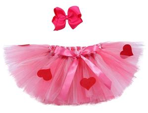 photo of dress-up Valentine's Day tutu