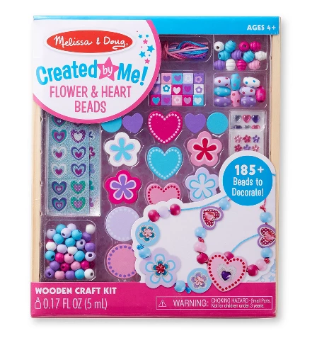 photo of Melissa & Doug jewelry making kit