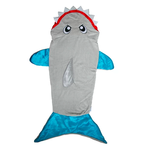 photo of snuggie shark tail
