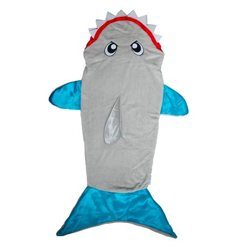 photo of snuggie shark tail