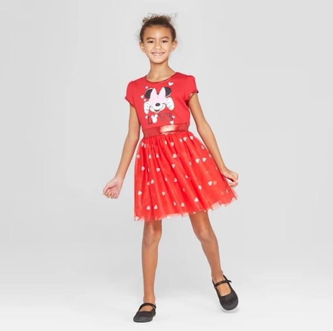 disney minnie mouse Valentine's Day dress