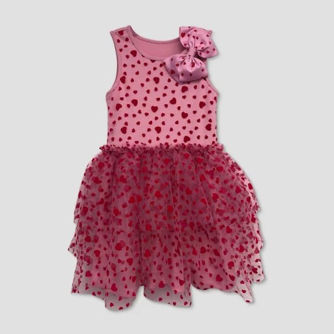 JoJo Siwa Valentine's Day dress