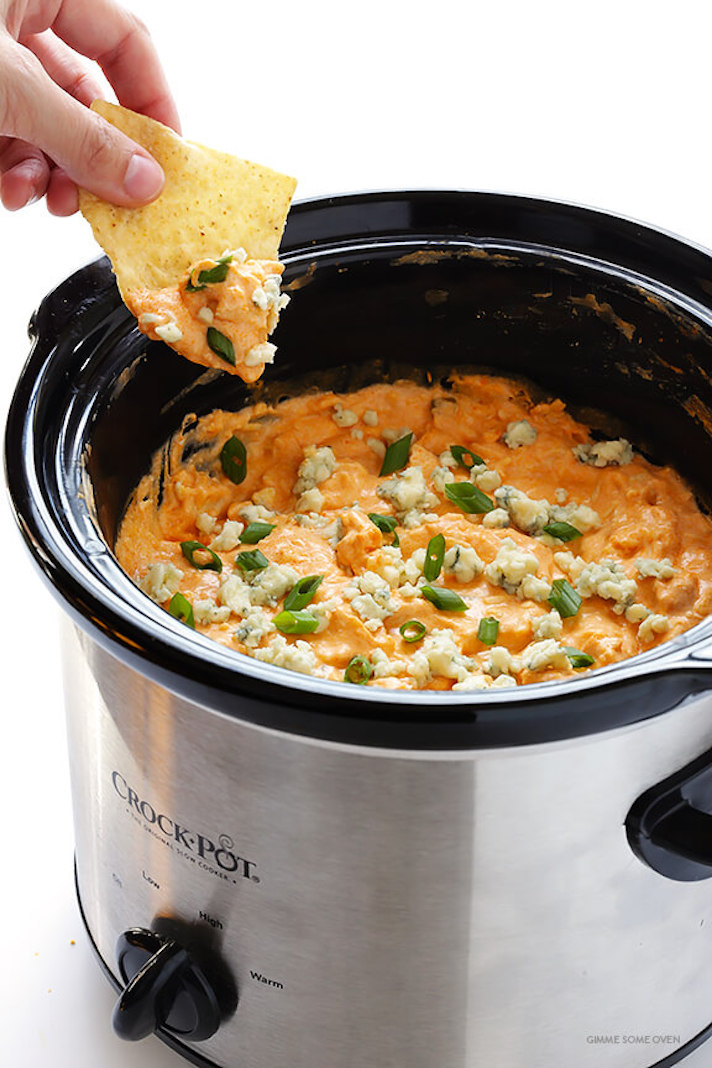 11 Easy Buffalo Chicken Recipes for Your Super Bowl Party: Slow-Cooker Buffalo Chicken Dip