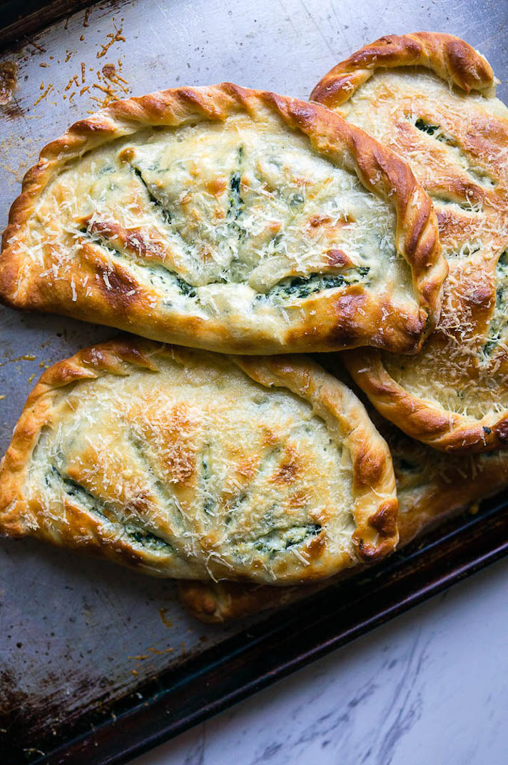 13 Easy Pizza Recipes That Make Great Dinners: Ricotta and Spinach Calzones