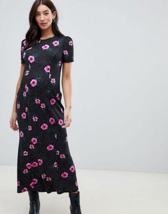 Spot Maxi Tea Dress