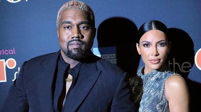 Kim Kardashian Kanye West Broadway