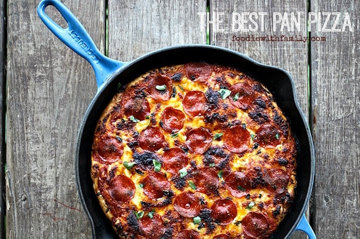 13 Easy Pizza Recipes That Make Great Dinners: The Best Pan Pizza