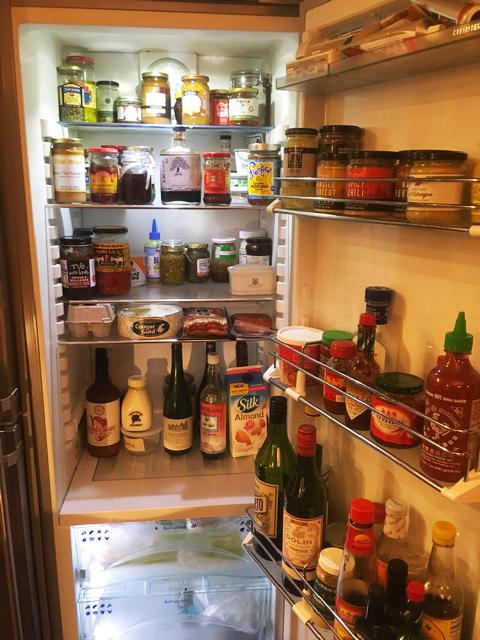 Tom Douglas' fridge