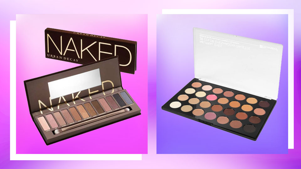 Urban Decay Naked Palette vs. BH Cosmetics Essential Eyes Eyeshadow Palette