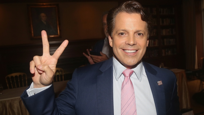 Anthony Scaramucci poses at 'The 1st
