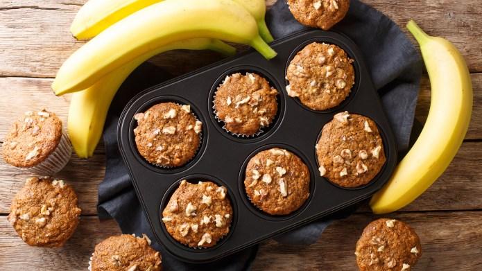 Baking with bananas