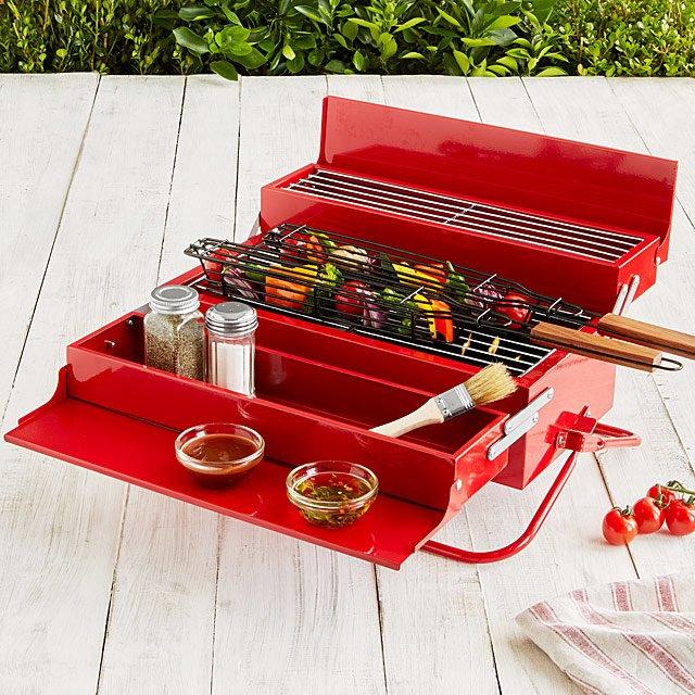 BBQ toolbox.