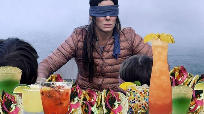 This 'Bird Box'-Themed Restaurant Is Almost