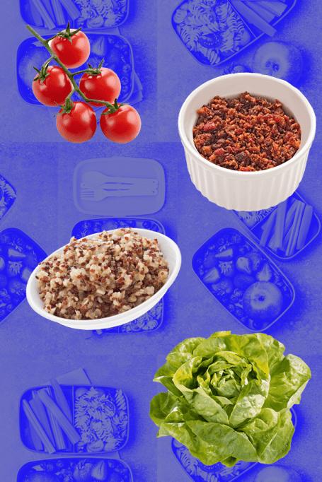 BLT Quinoa Bowl