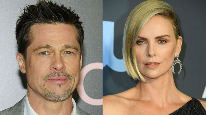 Photo of Brad Pitt and Charlize