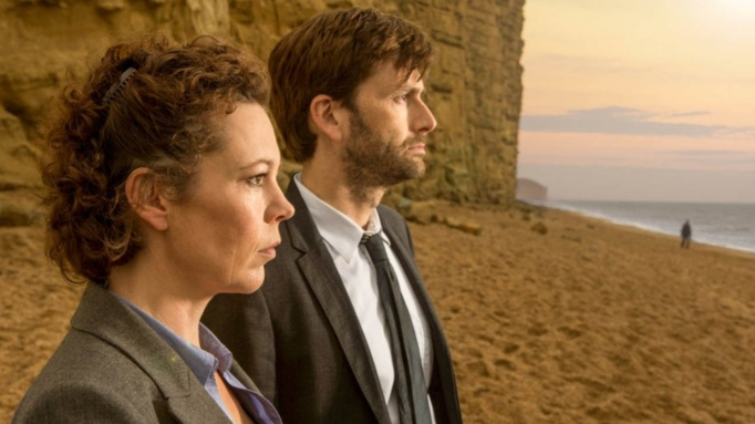 Olivia Coleman and David Tennant in 'Broadchurch.'
