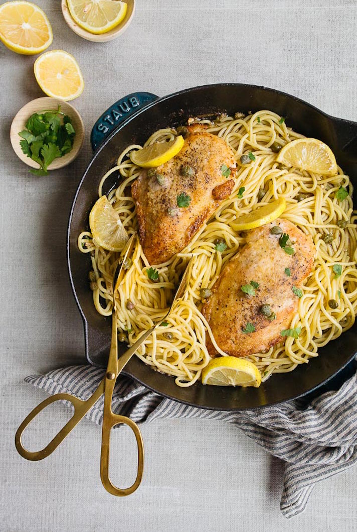 11 Date Night Dinner Recipes Anyone Can Make: Lemon Chicken Piccata