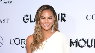 Chrissy Teigen arrives at the 2018