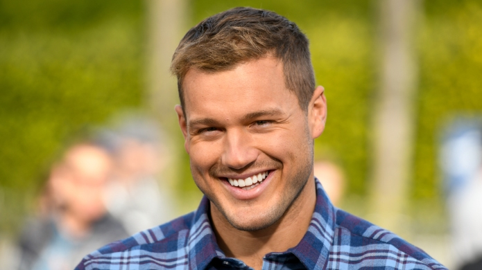 'The Bachelor' Colton Underwood visits 'Extra'