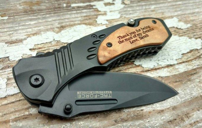 Customized Swiss Army knife.