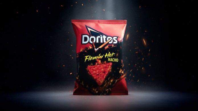 Doritos Releases New Flamin' Hot Nacho