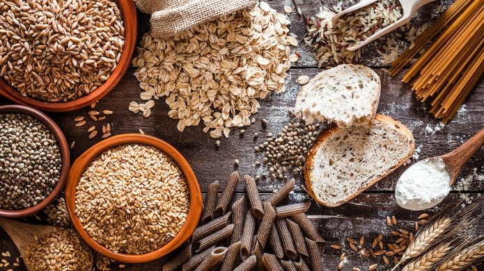 photo of bread whole grains and