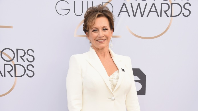 SAG-AFTRA President Gabrielle Carteris attends the