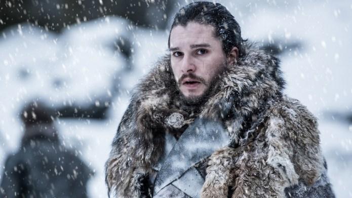 Photo of Jon Snow in the
