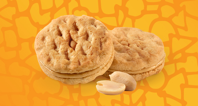 Girl Scout Cookies Peanut Butter cookies.