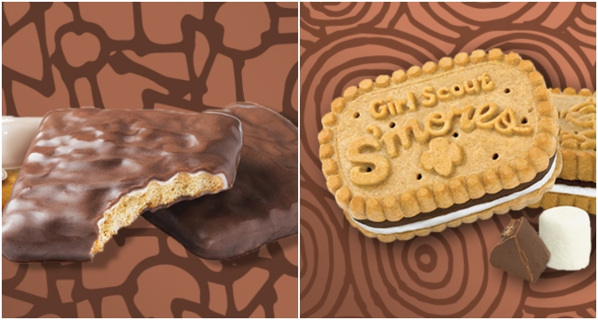 Girl Scout Cookies S'mores.
