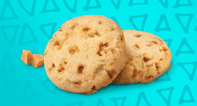 Girl Scout Cookie Toffee-tastic cookies.
